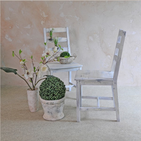 Stuhl mit Charakter